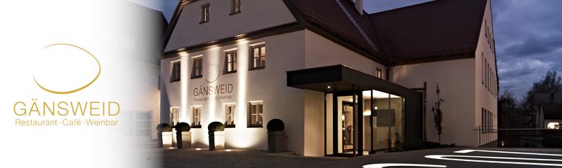Restaurant Gänsweid in Wertingen